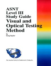 Asnt level 3 basic study books